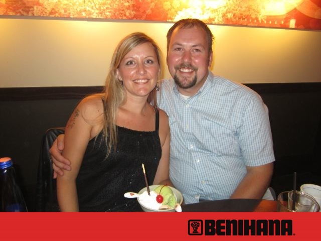 Anniversary at Benihana's