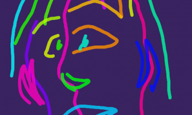 phone doodling in bed