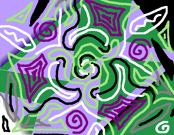 with added squiggles, my-style